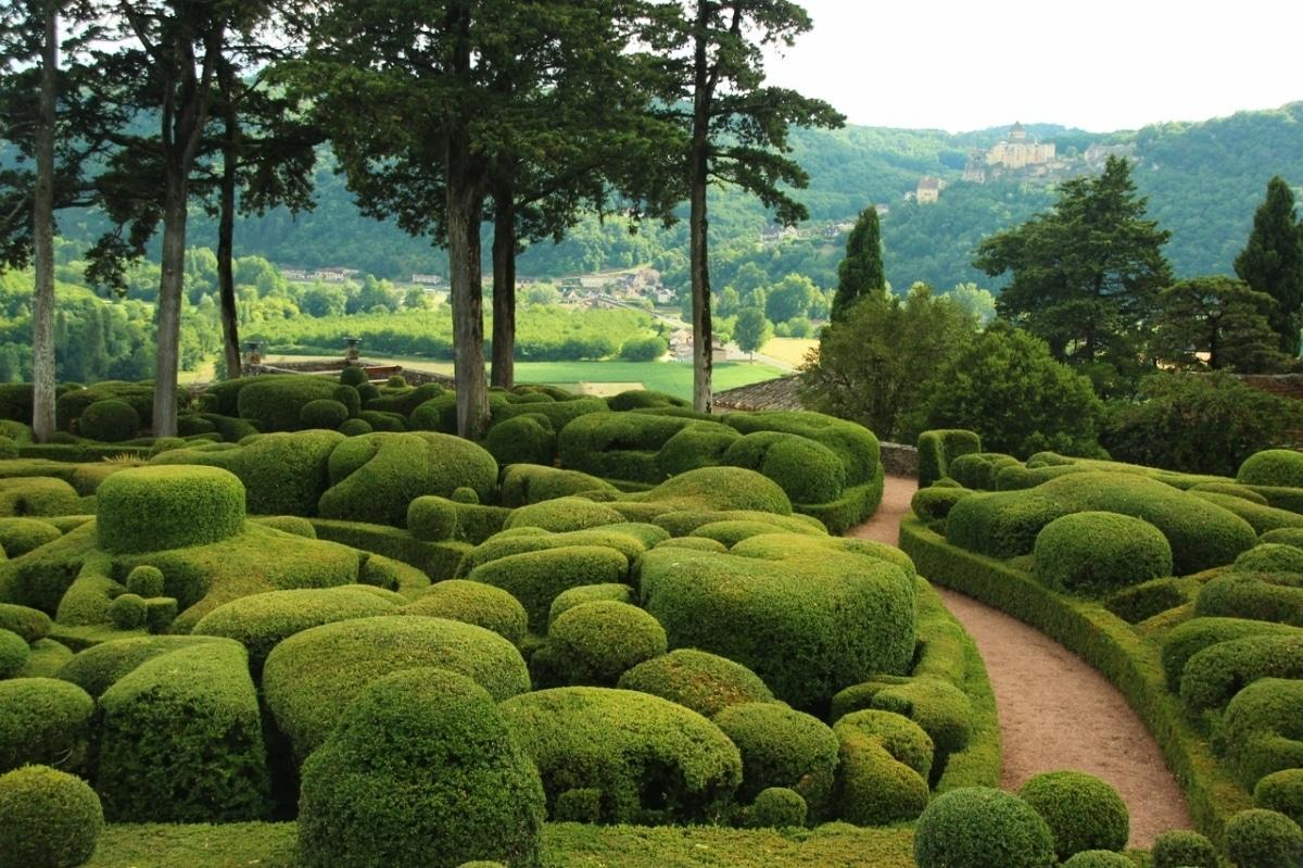 Los Jardines de Marqueyssac son franceses