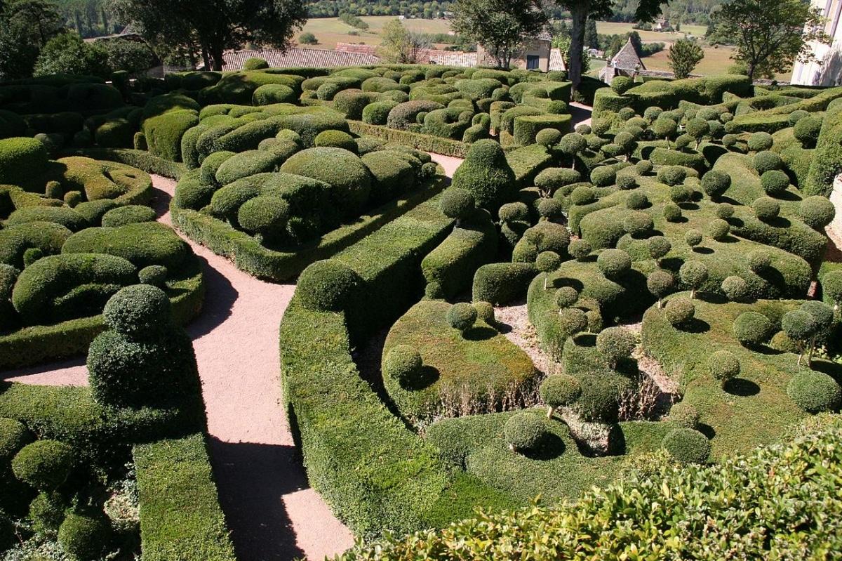 Los jardines de Marqueyssac son originales