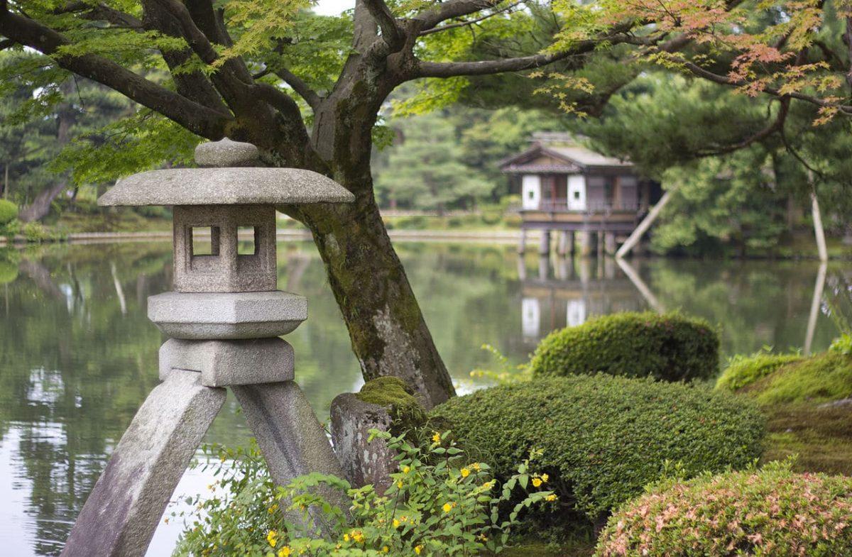El Jardín de Kenrokuen es uno de los más bonitos del mundo