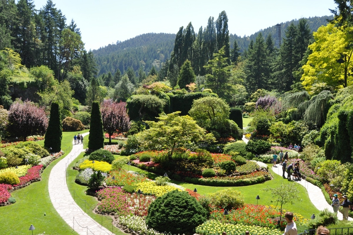 El Jardín de Butchart es uno de los más bellos de Canadá