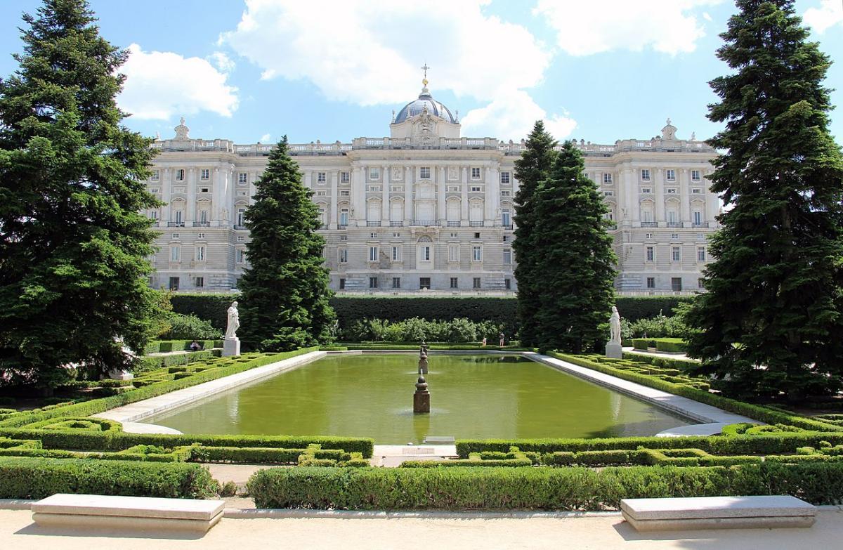 Los Jardines de Sabatini están en Madrid