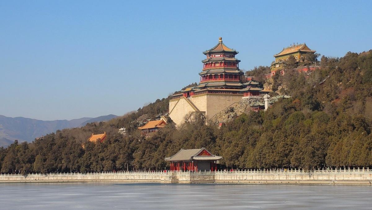 En el Palacio de Verano de Pekín hay uno de los jardines más bonitos