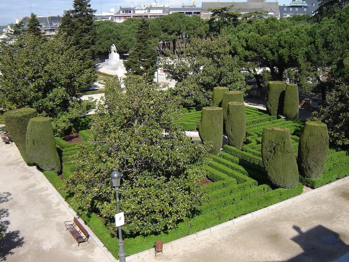 Los Jardines de Sabatini son de Madrid