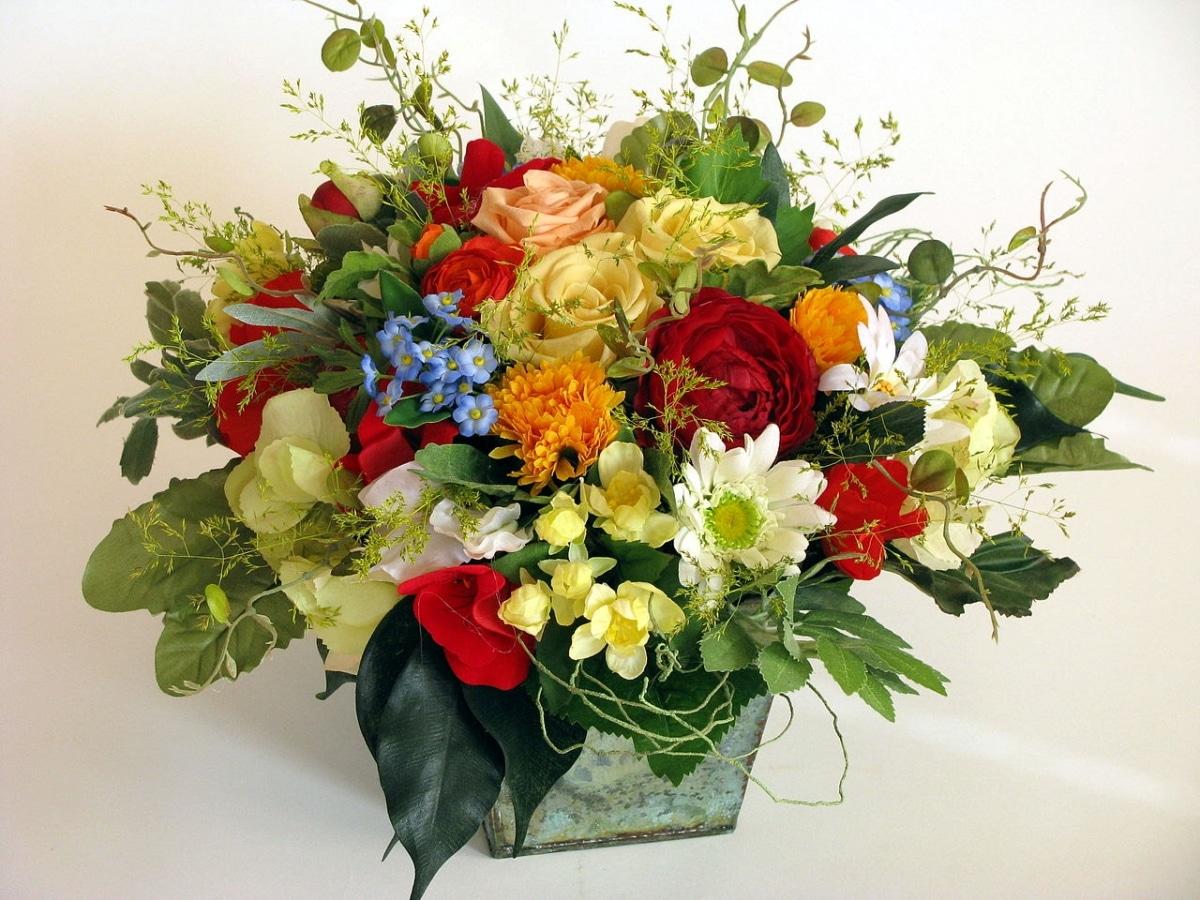 Las flores preservadas quedan genial con otras secas