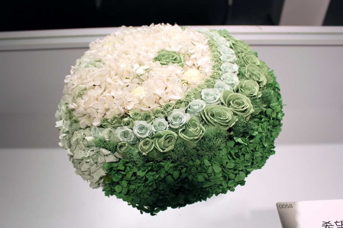 Las flores preservadas duran dos años