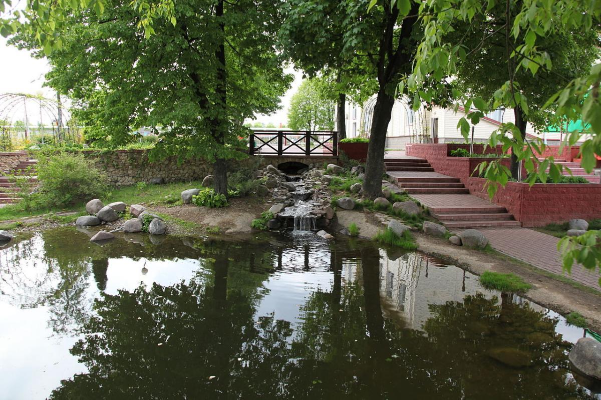 Es interesante poner un estanque en un jardín