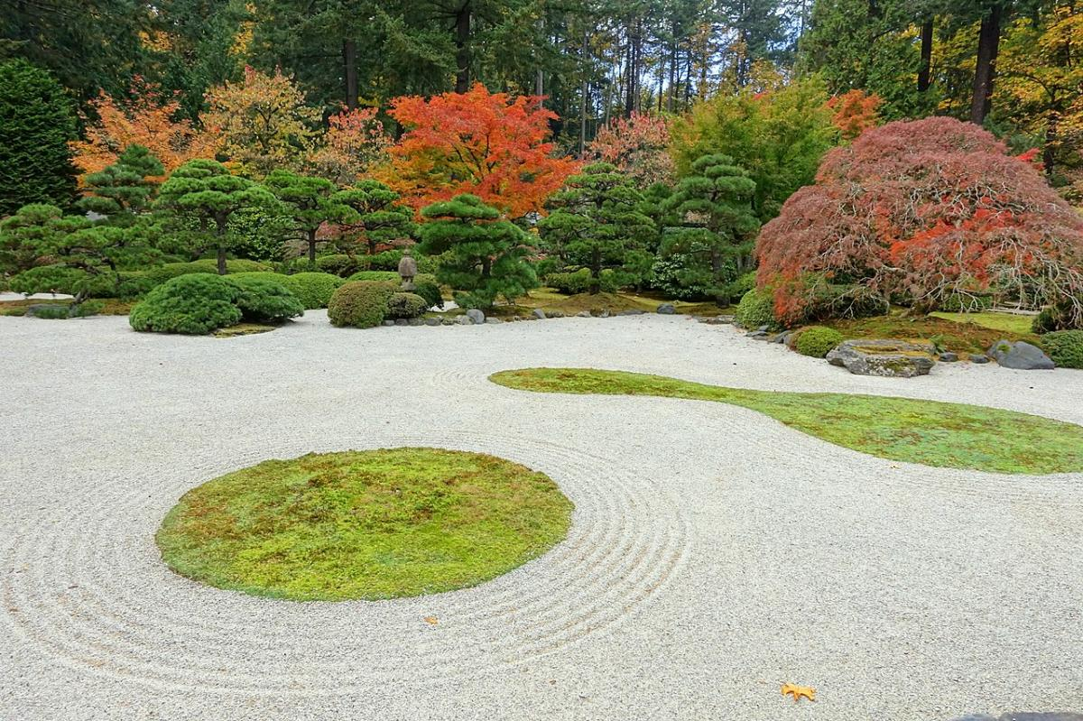 Haz un jardín zen en tu jardín japonés