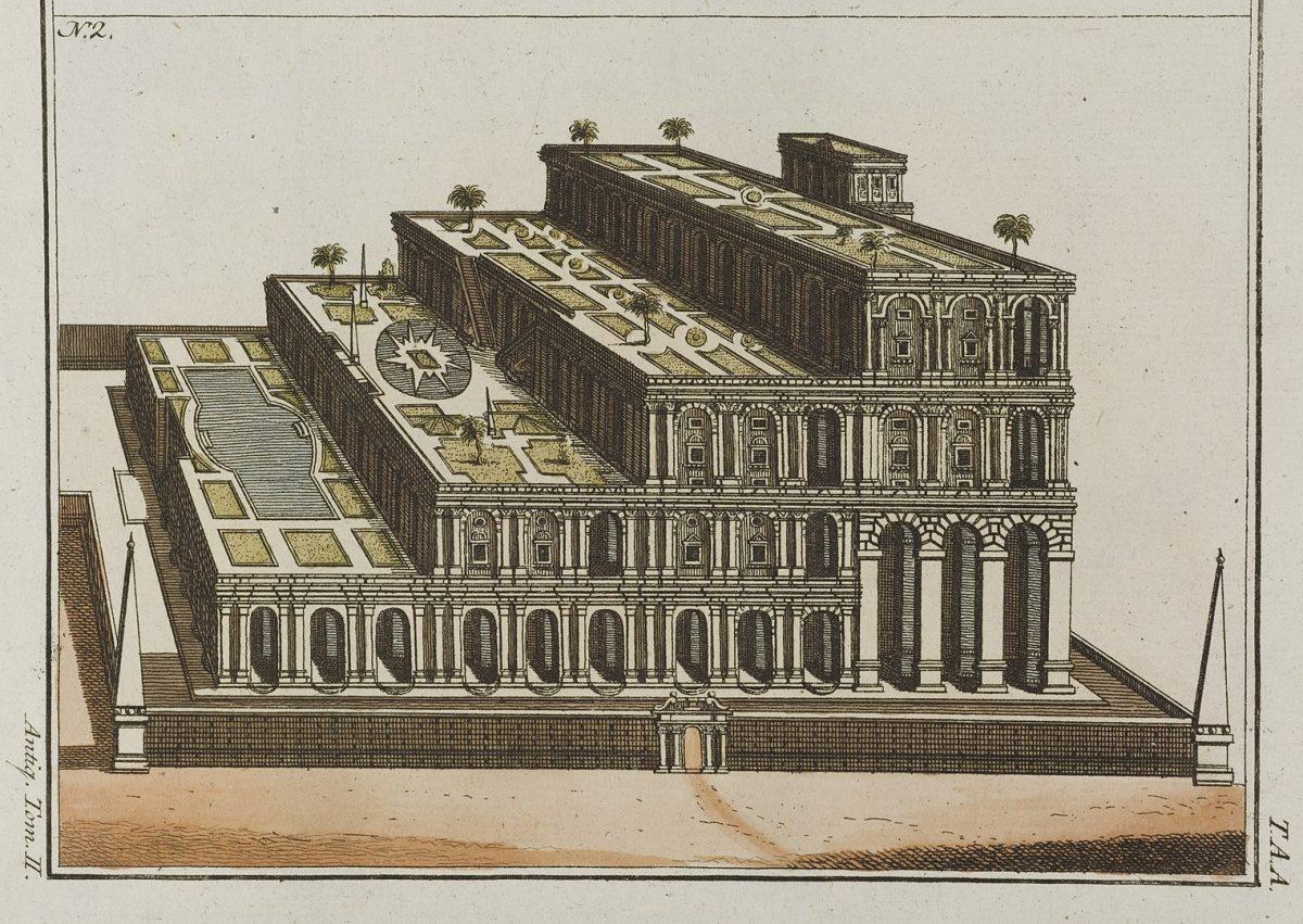 Los jardines colgantes de Babilonia son de hace 2700 años
