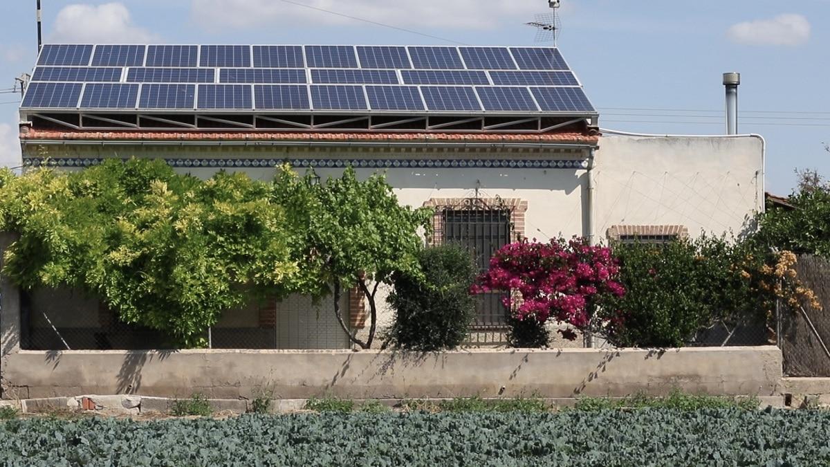 placas solares en casa