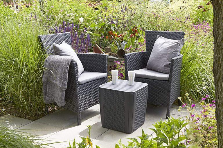 Existen muchos modelos de sillas para jardín diferentes