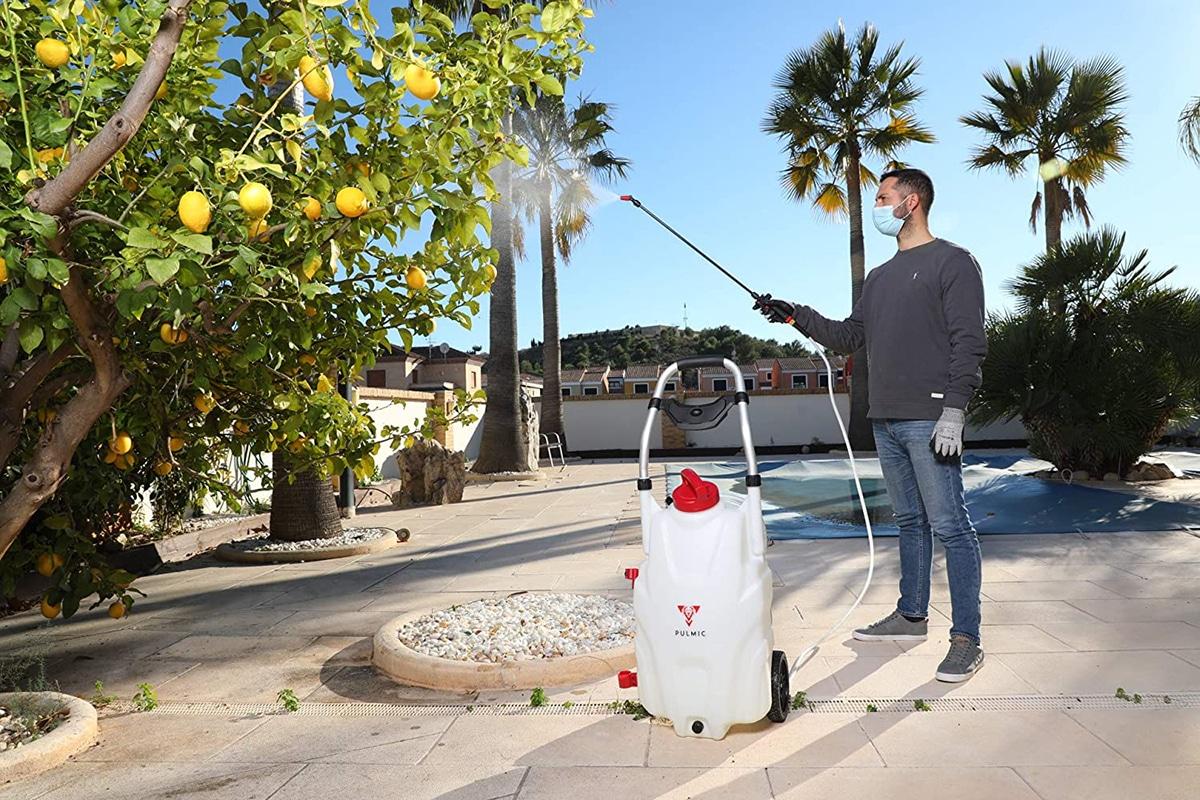 La sulfatadora eléctrica que compremos debe cubrir nuestras necesidades