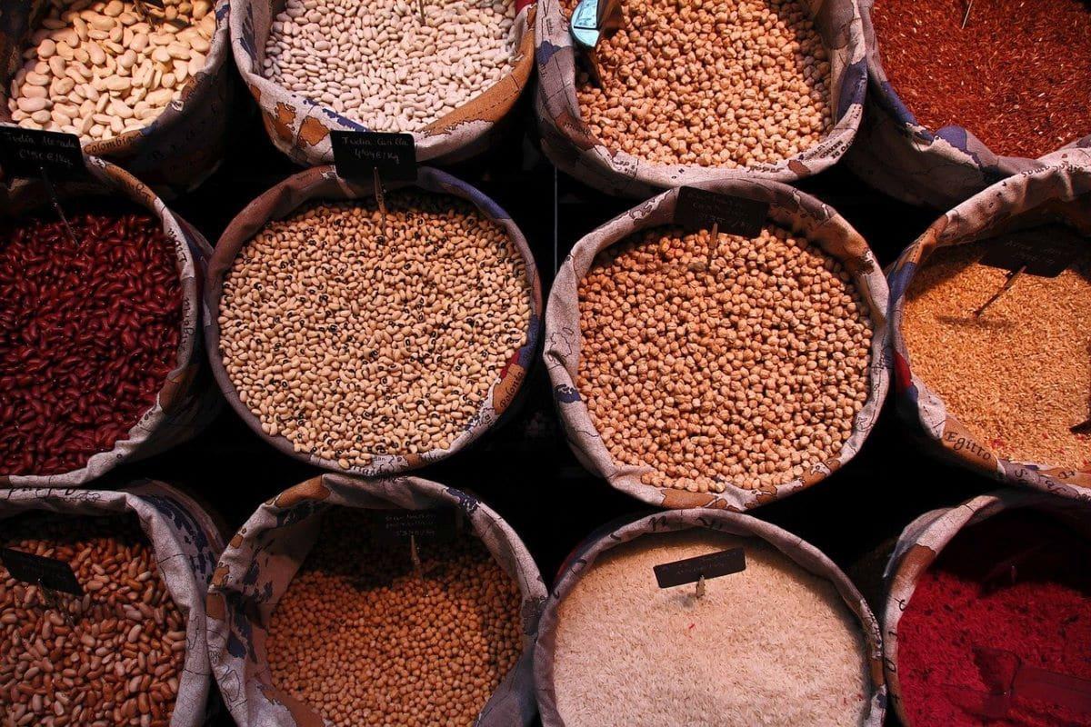 Hay muchos tipos de legumbres