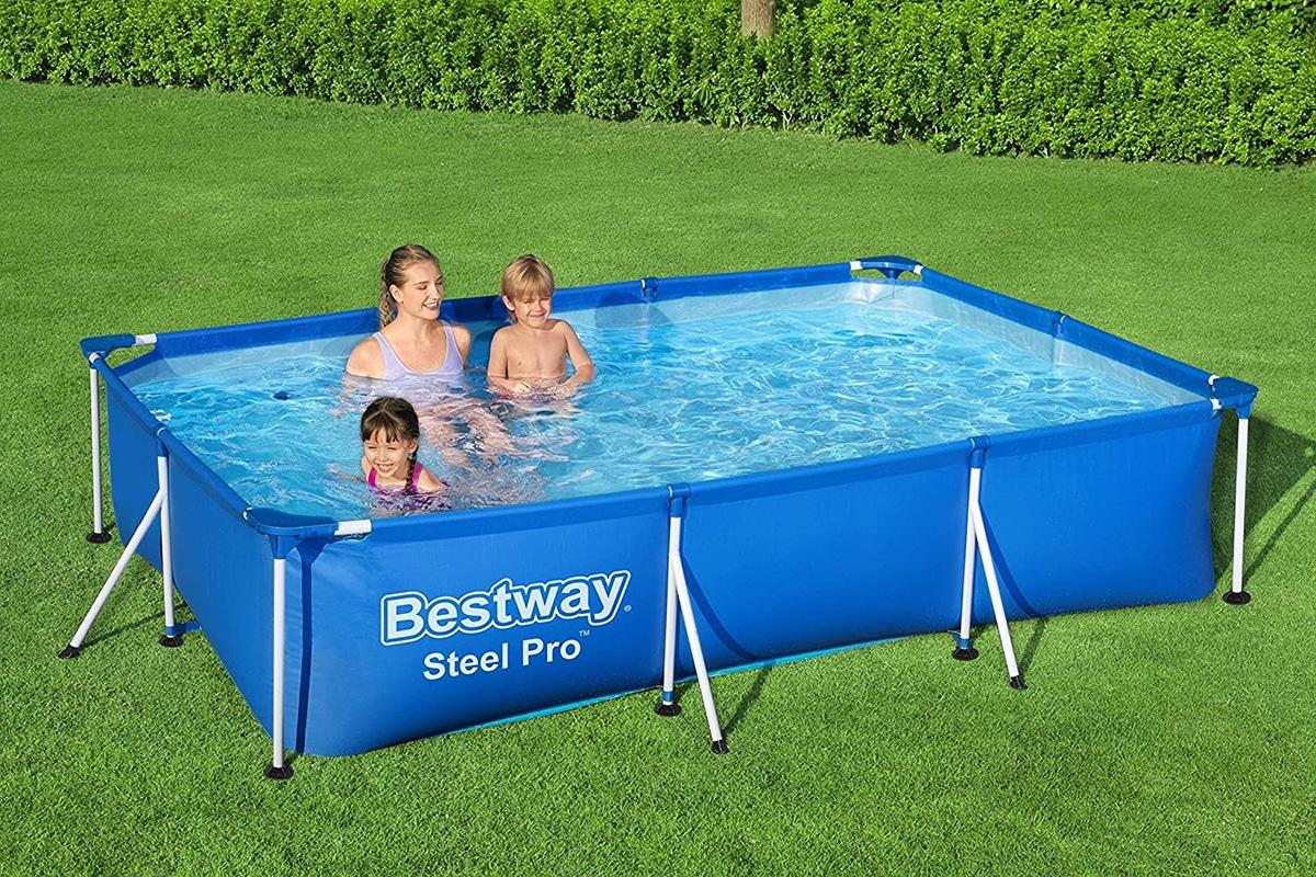 Las piscinas desmontables ofrecen muchas ventajas frente a las tradicionales