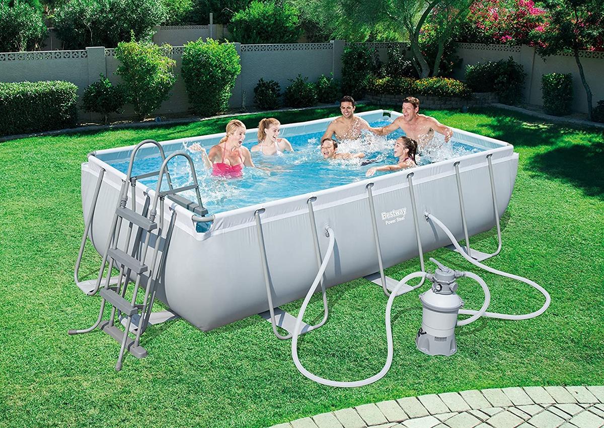 Las piscinas desmontables son ideales para el verano