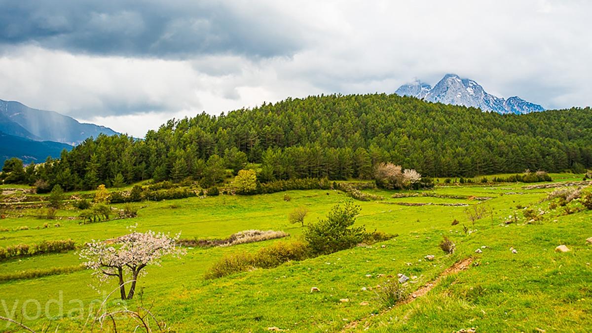 El Parc Natural Cadí-Moixeró es uno de loas mayores espacios naturales de Cataluña