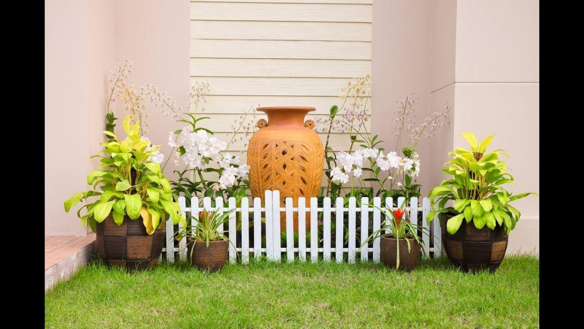 Ideas de decoración de jardines pequeños