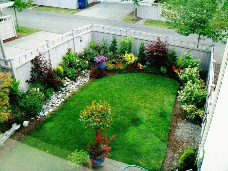 decoración jardines pequeños