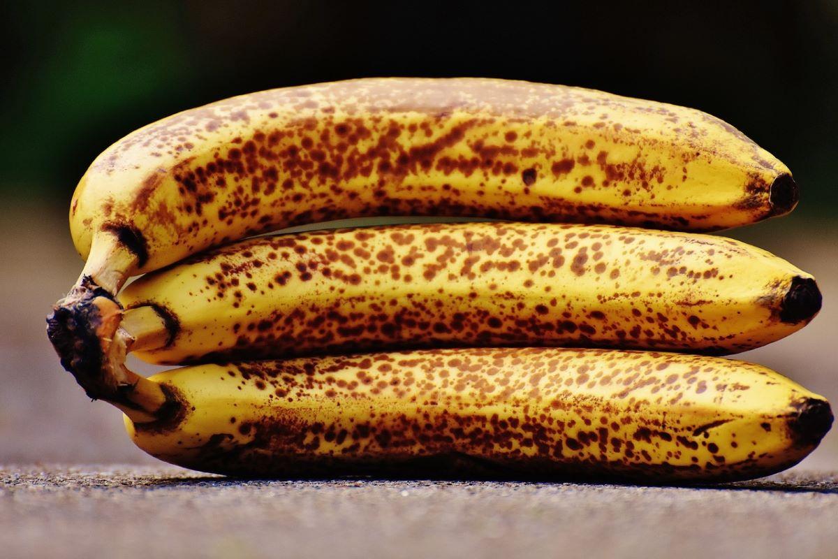 El plátano tiene un sabor dulce