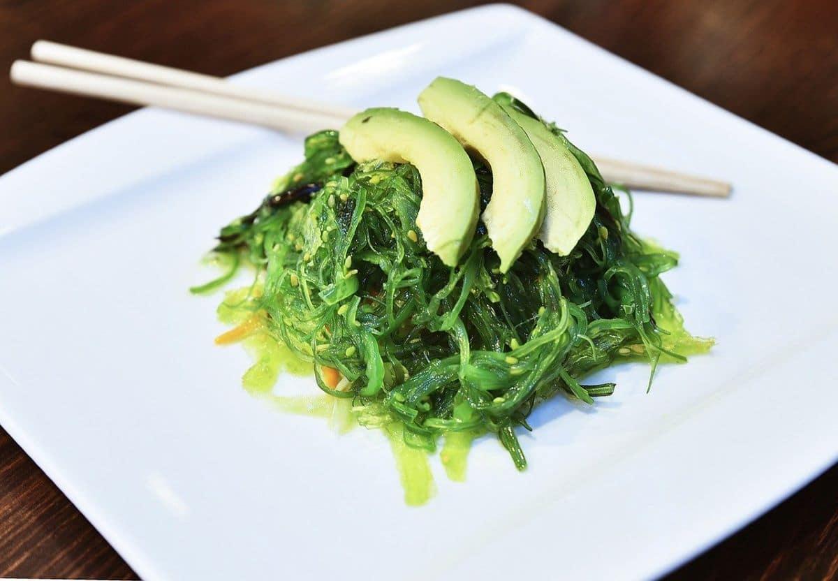 Algunas algas pueden comerse