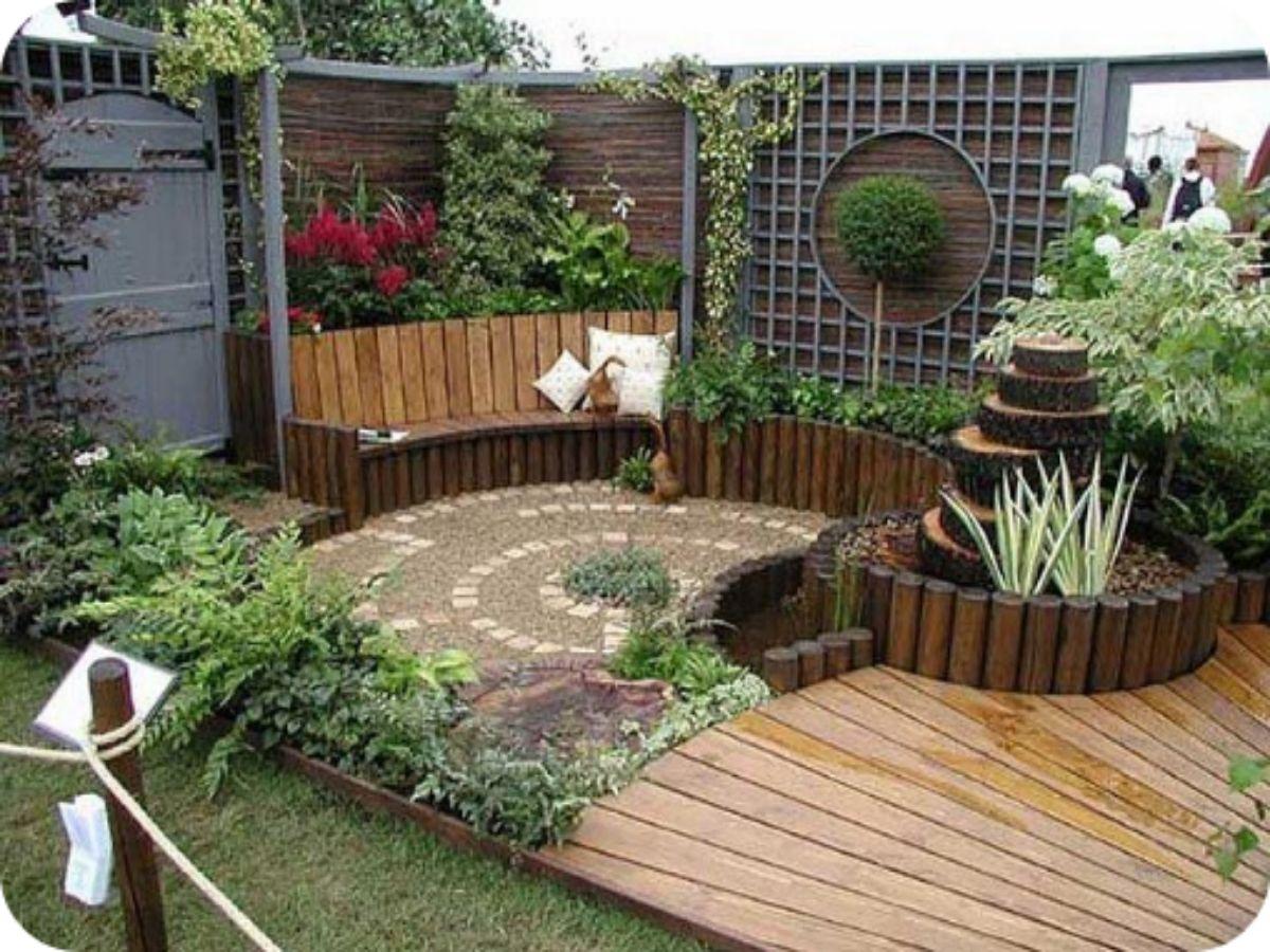 Ideas de jardines con encanto para tener un pedacito de magia en tu hogar
