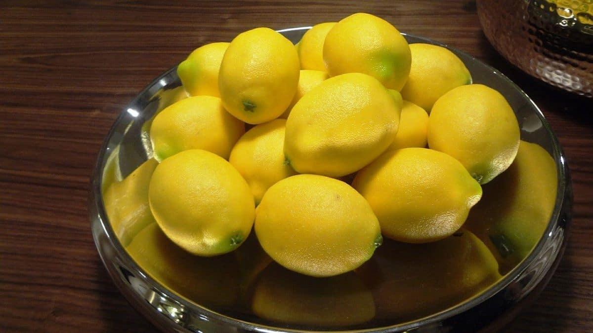 Los limones ayudan a bajar el ph del agua