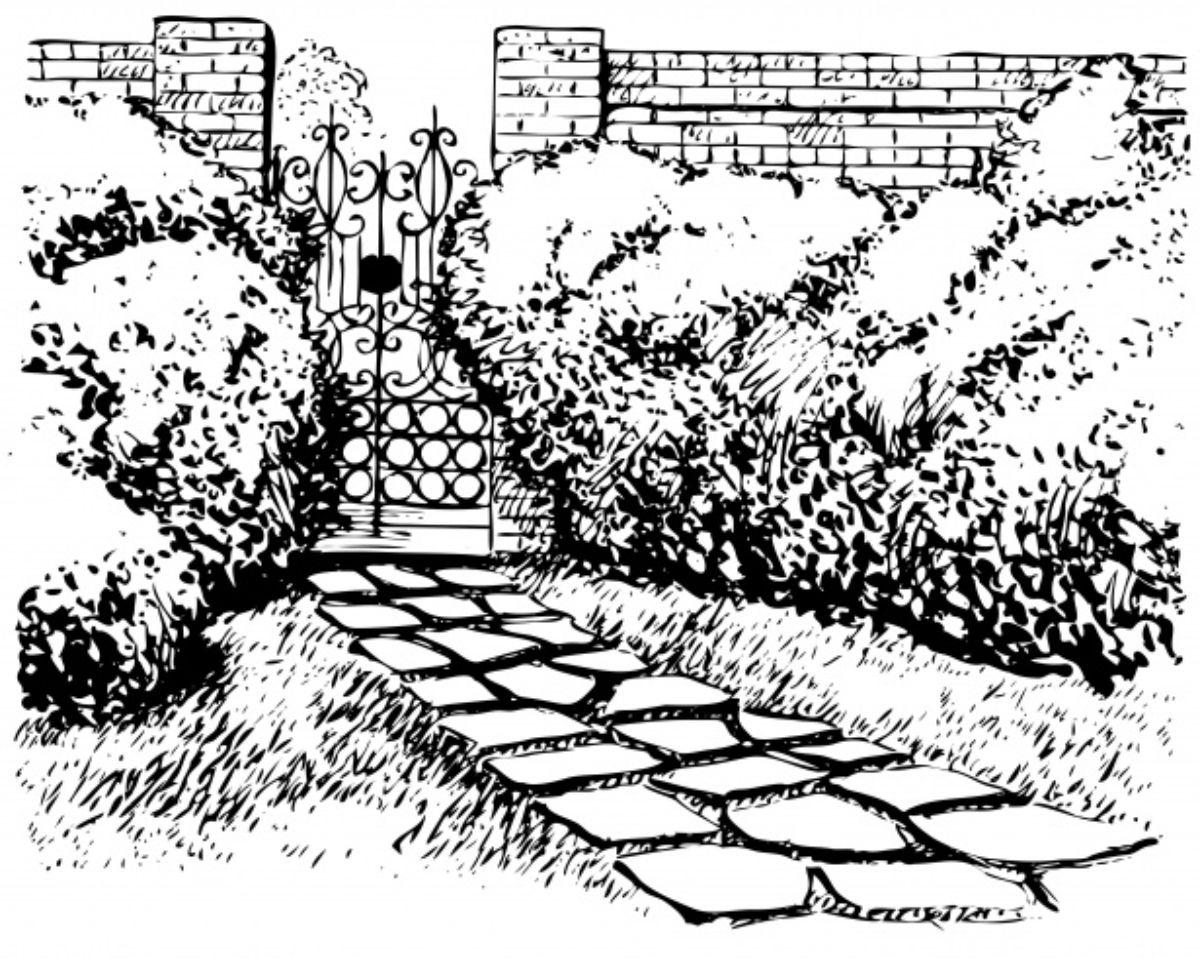 Ideas para hacer un borrador para el jardín