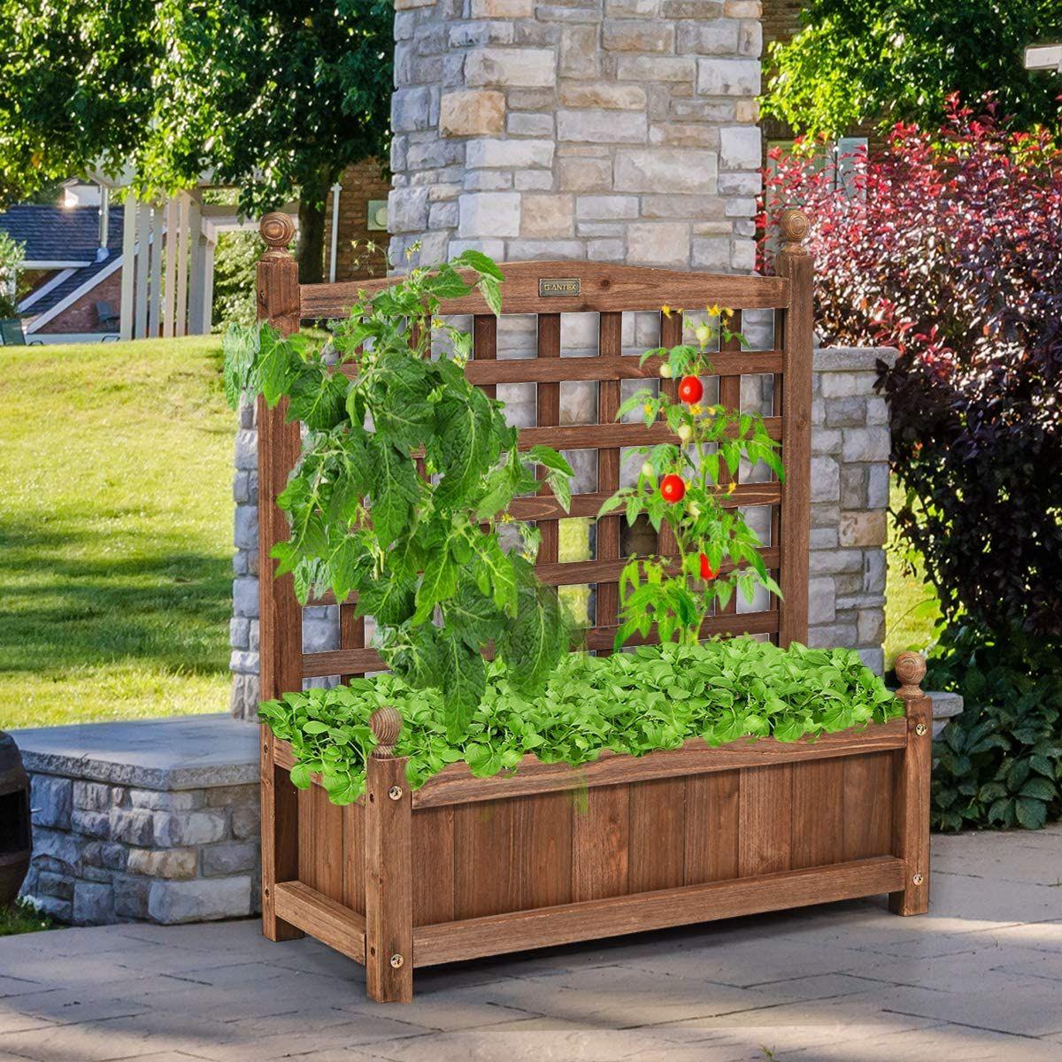 comprar jardinera con celosía