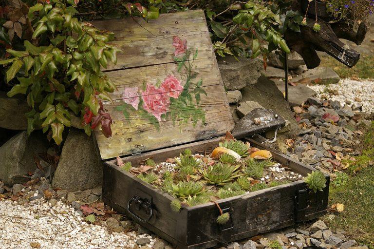 Para decorar un jardín hay que ser creativo